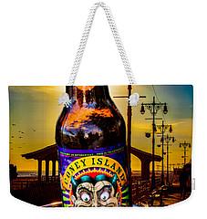 Coney Island Beer Weekender Tote Bag