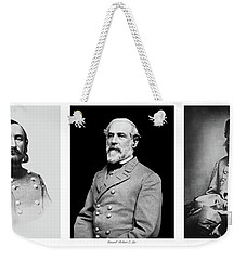 Weekender Tote Bag featuring the photograph Confederarte Triptych by Paul W Faust - Impressions of Light