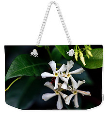 Confederate Jasmine Weekender Tote Bag by Sennie Pierson