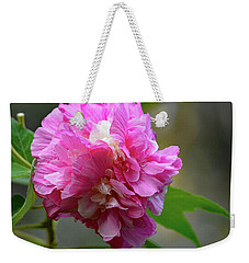 Confederate Rose Weekender Tote Bag