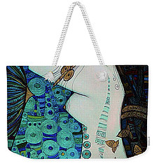 Confessions In Blue Weekender Tote Bag