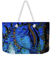 Confessions In Blue Weekender Tote Bag