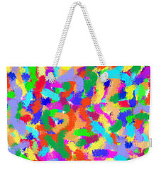 Confetti Weekender Tote Bag by Denise Fulmer