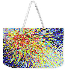 Confidence Weekender Tote Bag by Polly Castor