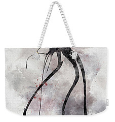 Conflict Weekender Tote Bag by Rebecca Jenkins