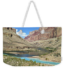 Confluence Of Colorado And Little Colorado Rivers Grand Canyon National Park Weekender Tote Bag