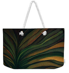 Weekender Tote Bag featuring the painting Confused by Fei A
