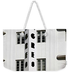 Congress Hotel. Miami. Fl. Usa Weekender Tote Bag