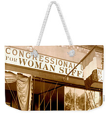 Congressional Union For Woman Suffrage Colorado Headquarters 1914 Weekender Tote Bag