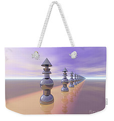 Conical Geometric Progression Weekender Tote Bag