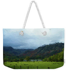 Coniston Watercolour Sketch Weekender Tote Bag