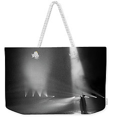 Weekender Tote Bag featuring the photograph Conjuring The Lightning by Alex Lapidus