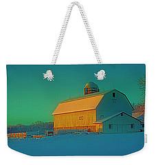 Conley Rd White Barn Weekender Tote Bag