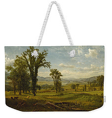 Connecticut River Valley, Claremont, New Hampshire Weekender Tote Bag