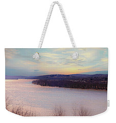 Connecticut River View From Gillette Castle. Weekender Tote Bag