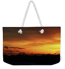 Connecticut Sunset Weekender Tote Bag