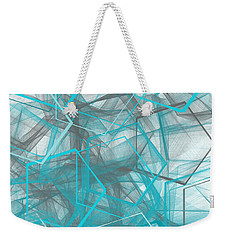 Connecting Angles Weekender Tote Bag