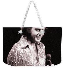 Connecting With The Audience Weekender Tote Bag by Ron Chambers