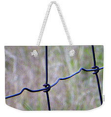 Weekender Tote Bag featuring the photograph Connectivity by Tina M Wenger