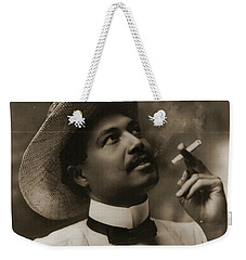 Weekender Tote Bag featuring the photograph Connoisseur 1899 by Padre Art