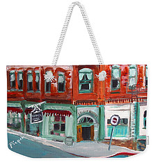Connor Hotel In Jerome Weekender Tote Bag