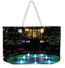 Conservatory At Night Weekender Tote Bag