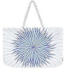 Weekender Tote Bag featuring the digital art Consontrate by Jamie Lynn