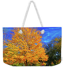 Constant Motion Weekender Tote Bag by Dennis Baswell