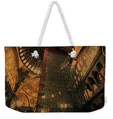 Construction - Hagia Sophia Weekender Tote Bag by Jim Vance