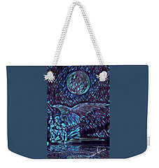 Contemplating The Next Move Weekender Tote Bag