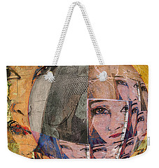 Contemplating Women - Through The Looking Glass Weekender Tote Bag by Jeff Burgess