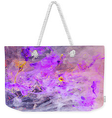 Contemplation - Colorful Abstract Photography Weekender Tote Bag