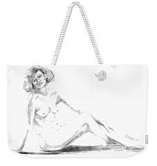 Contemplation Weekender Tote Bag by Edgar Torres
