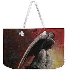 Contemplative Angel Weekender Tote Bag