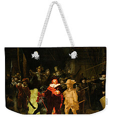Contemporary 1 Rembrandt Weekender Tote Bag by David Bridburg