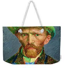 Contemporary 2 Van Gogh Weekender Tote Bag by David Bridburg