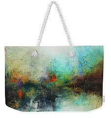 Contemporary Abstract Art Painting Weekender Tote Bag