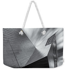 Weekender Tote Bag featuring the photograph Contemporary Architecture Of The Shops At Crystals, Aria, Las Ve by Adam Romanowicz