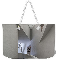 Contemporary Art Museum Interior Weekender Tote Bag by Margaret Brooks