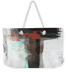 Contemporary Cross 1- Art By Linda Woods Weekender Tote Bag
