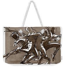 Contemporary Dance Quartet - Lucky Plush, Chicago Weekender Tote Bag