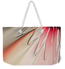 Contemporary Flower Weekender Tote Bag