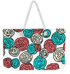 Contemporary Peonies Weekender Tote Bag