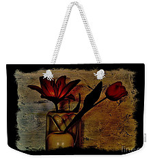 Contemporary Still Life Weekender Tote Bag