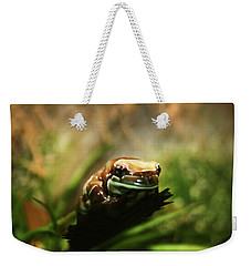 Weekender Tote Bag featuring the photograph Content by Anthony Jones