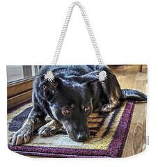 Content Weekender Tote Bag