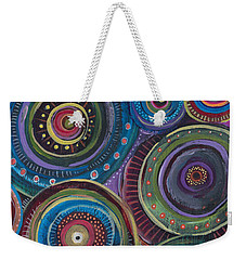 Continuum Weekender Tote Bag by Tanielle Childers