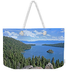Weekender Tote Bag featuring the photograph Contours Of The Sacred Land by Lynda Lehmann