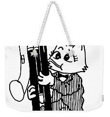 Contra Bassoon Cat Weekender Tote Bag