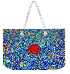 Weekender Tote Bag featuring the digital art Contractions by Joseph Keane